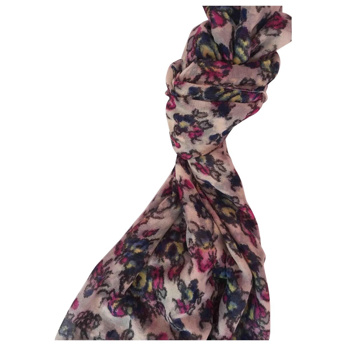 Max & Co - Foulard   pour femme en coton - multicolore