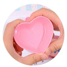 2pcs Heart Shaped Jewelry Tray