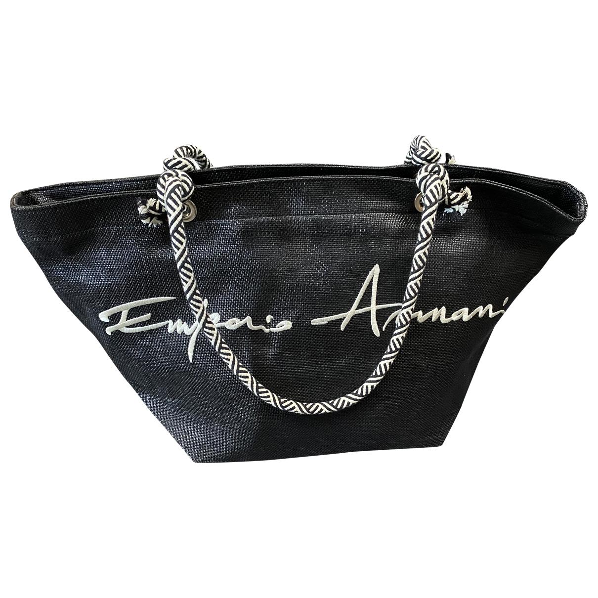 Emporio Armani - Sac a main   pour femme - noir