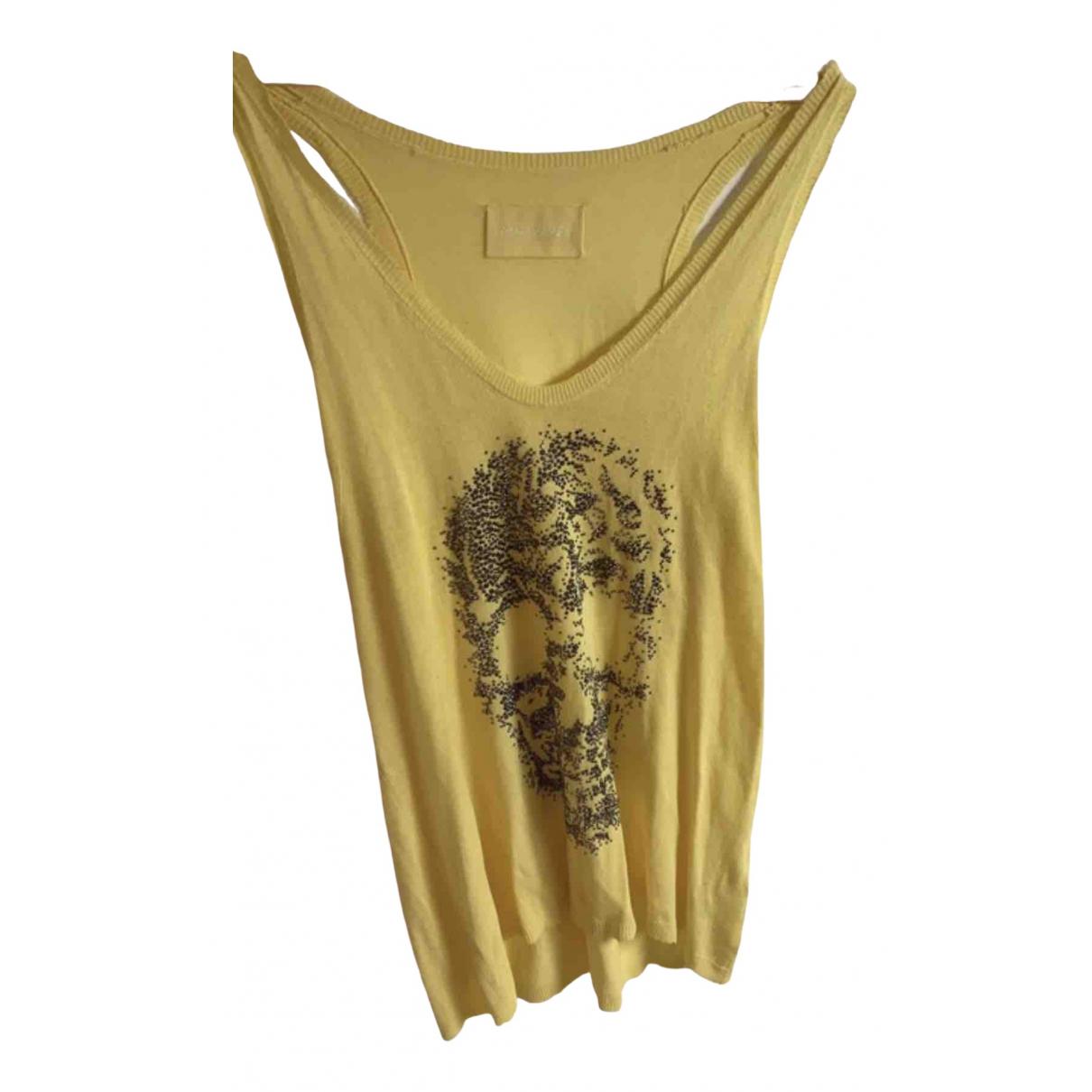 Zadig & Voltaire - Top   pour femme - jaune