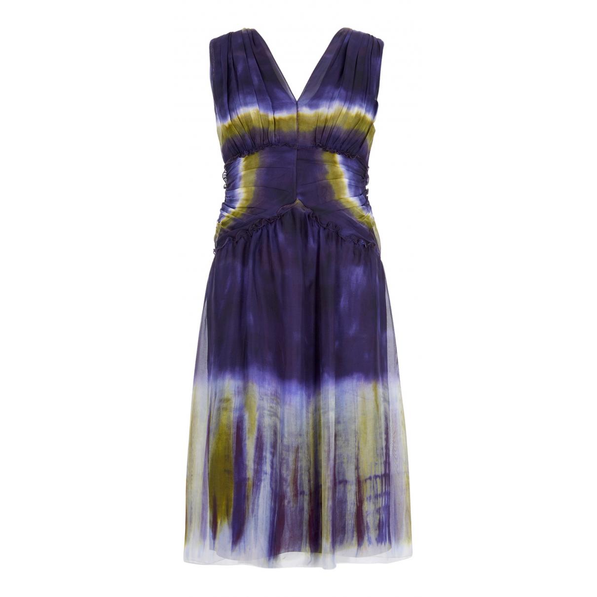 Vestido de Seda Alberta Ferretti