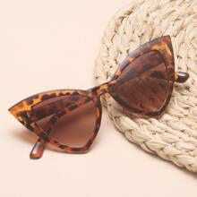 Tortoiseshell Cat Eye Frame Sunglasses