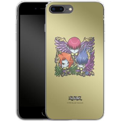 Apple iPhone 7 Plus Silikon Handyhuelle - Harpie Lady Sisters SD von Yu-Gi-Oh!