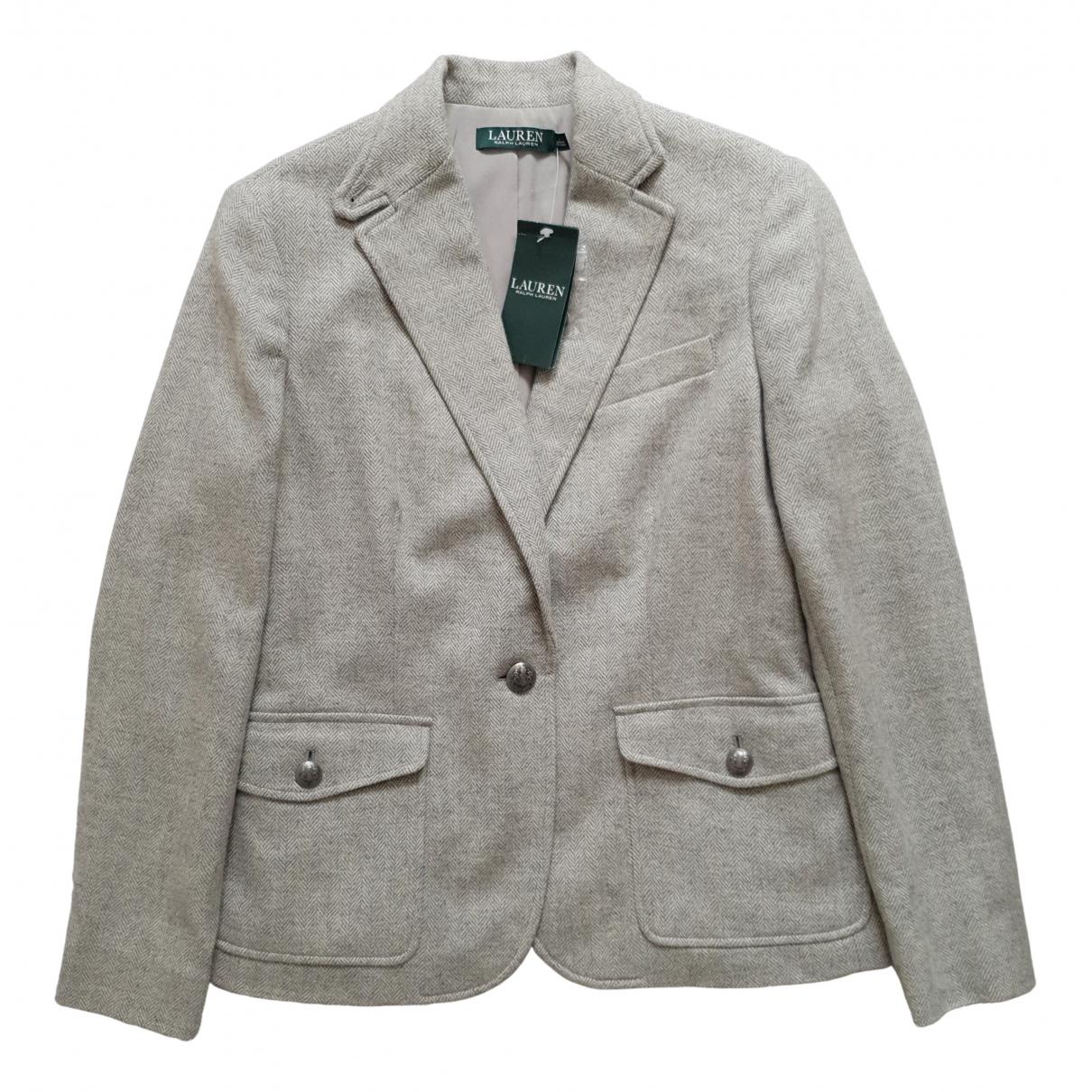 Lauren Ralph Lauren - Veste   pour femme en laine - beige