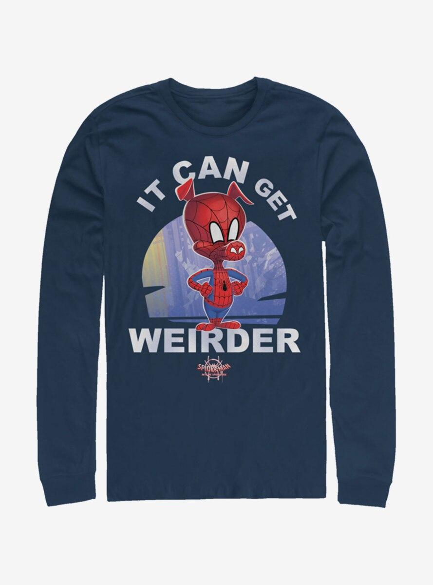 Marvel Spider-Man It Can Get Weirder Spider-Ham Long-Sleeve T-Shirt