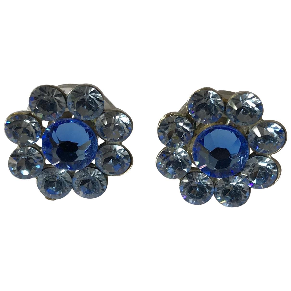- Boucles doreilles   pour femme en cristal - turquoise