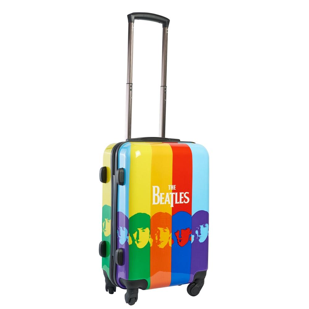Beatles 21 inch Spinner Carry On Suitcase (Multi)