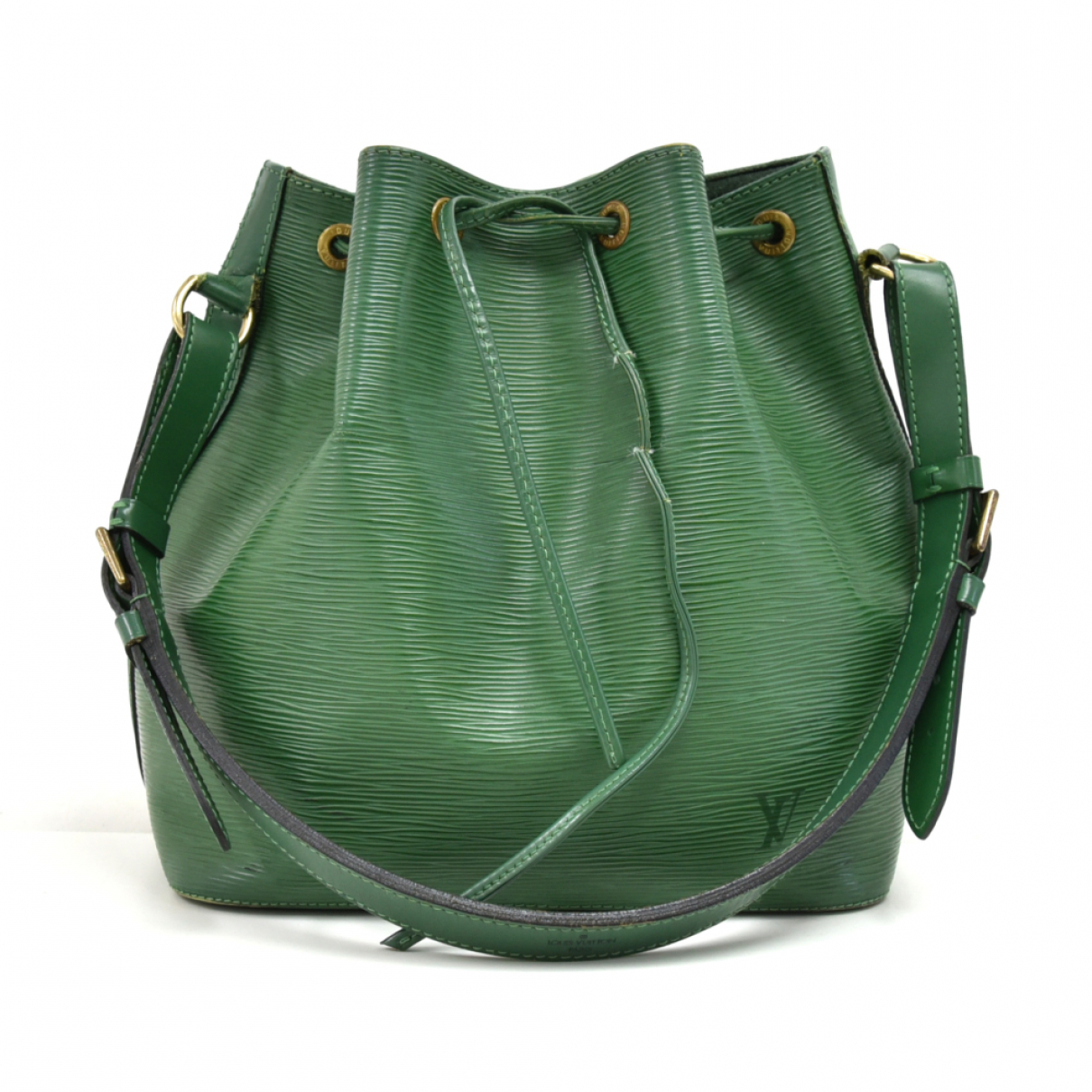 Louis Vuitton - Sac a main   pour femme en cuir - vert