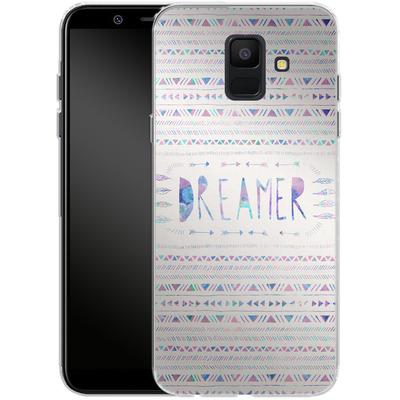 Samsung Galaxy A6 Silikon Handyhuelle - Dreamer von Bianca Green