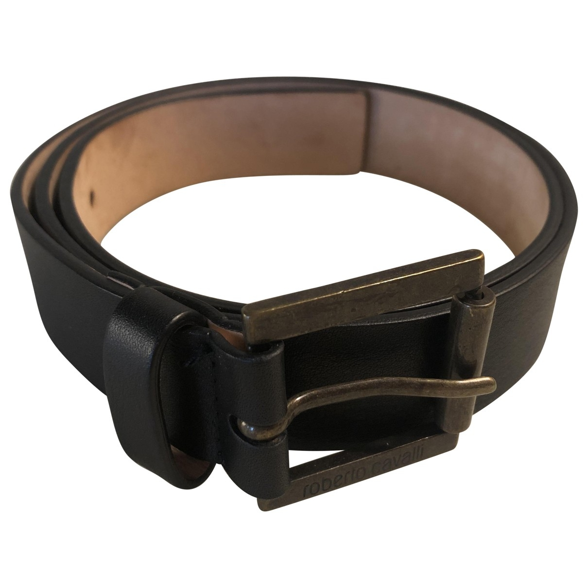 Roberto Cavalli \N Brown Leather belt for Women 85 cm