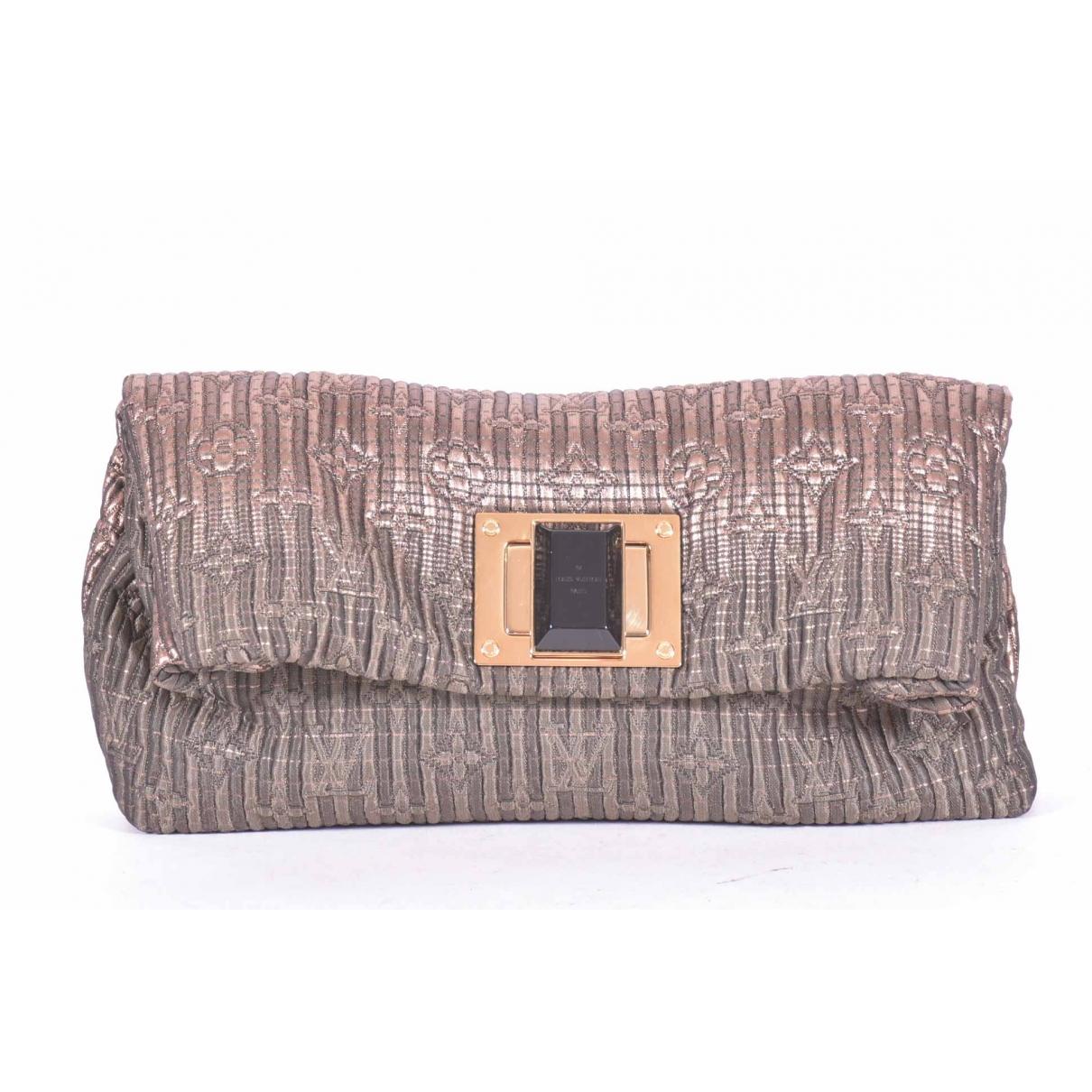 Louis Vuitton - Pochette   pour femme en toile - dore