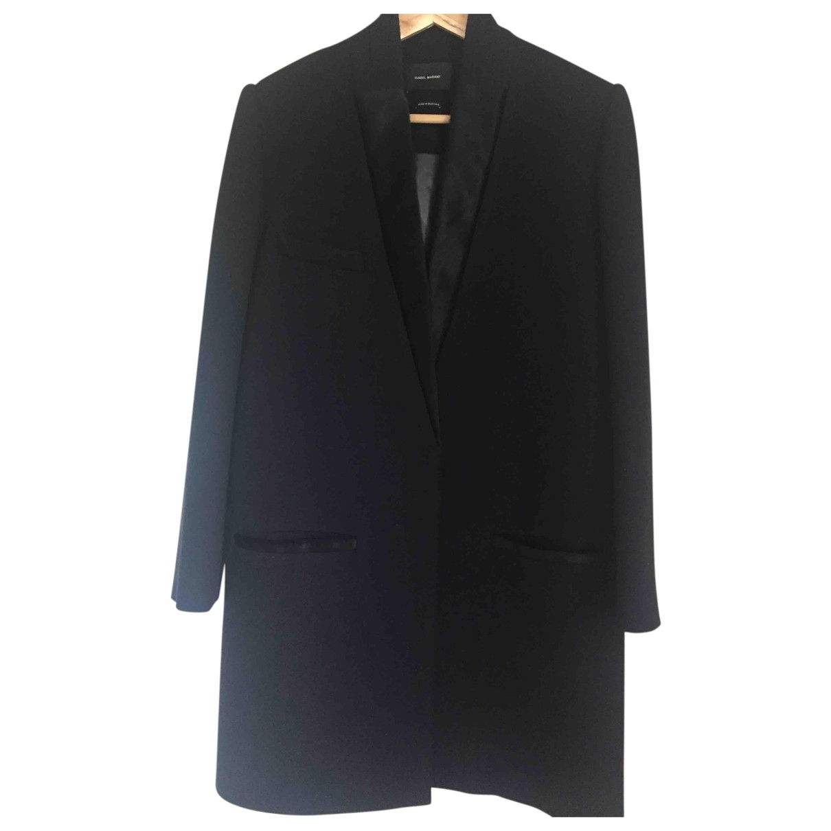 Isabel Marant \N Navy Wool coat for Women 38 FR