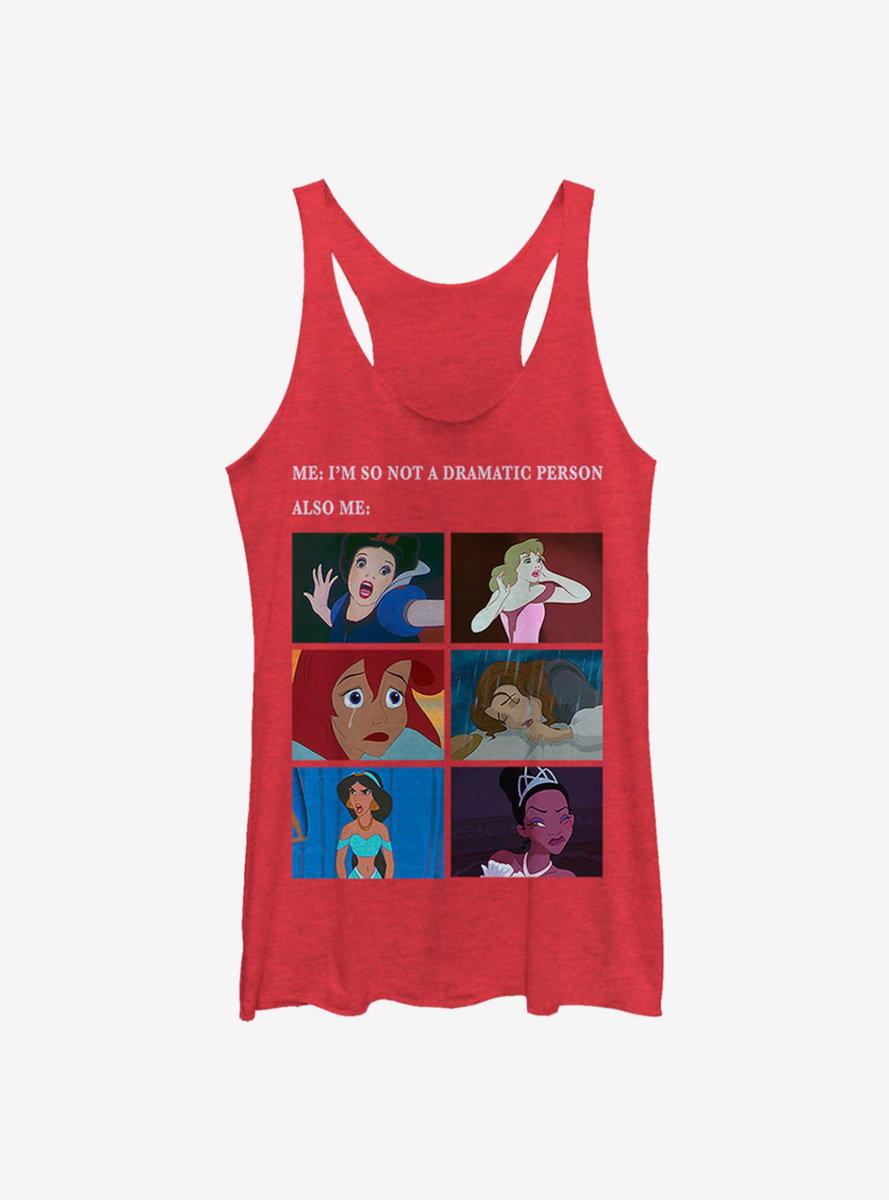 Disney Princesses Princess Drama Meme Womens Tank Top