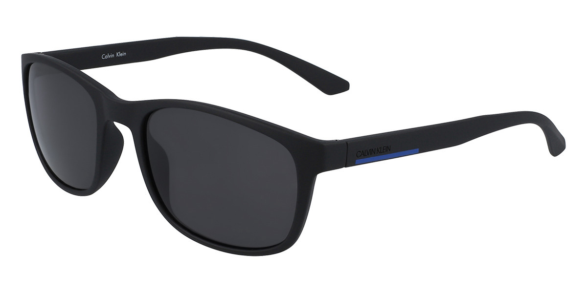Calvin Klein CK20544S 001 Men's Sunglasses Black Size 56