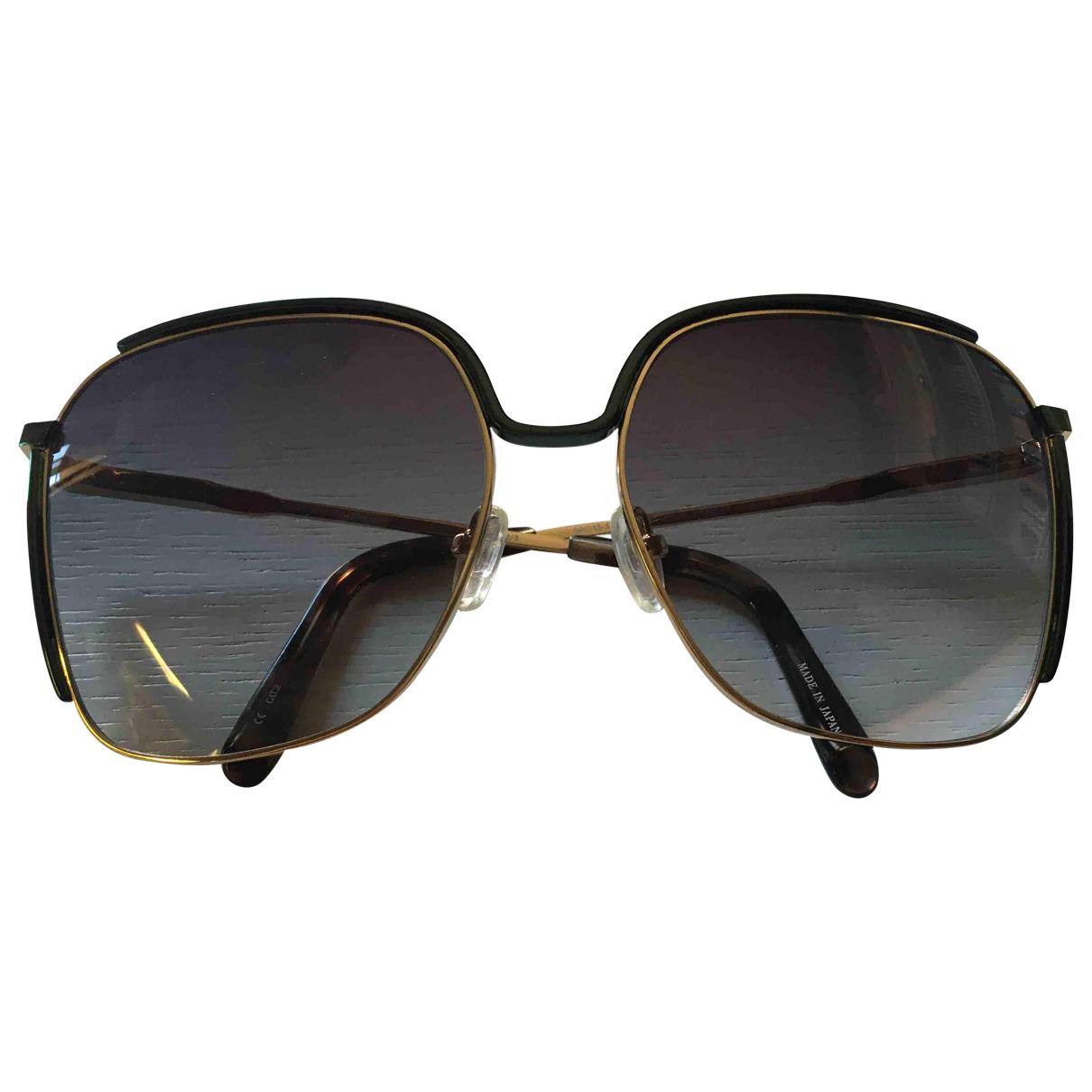 Matthew Williamson \N Green Metal Sunglasses for Women \N