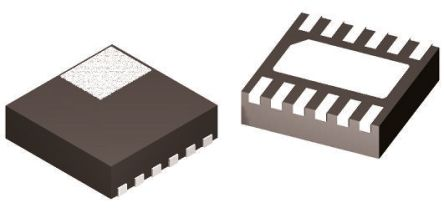 ON Semiconductor NCP45560IMNTWG-L, 1-Channel Intelligent Power Switch, Load Management, 3 → 5.5V, 3.49W 12-Pin, (5)