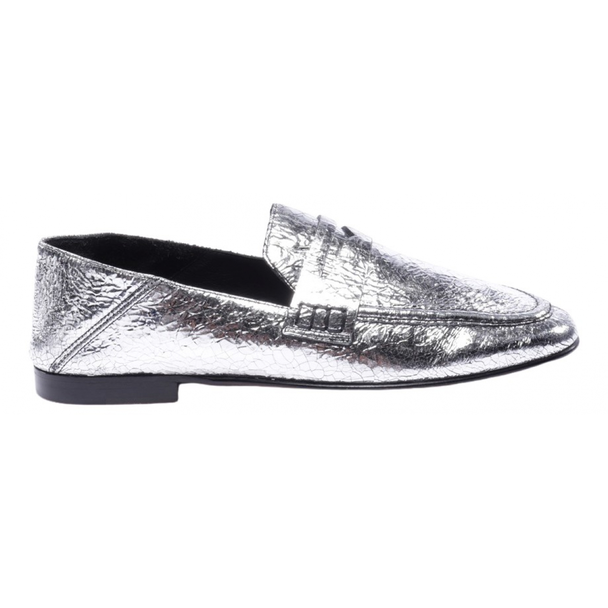 Isabel Marant \N Metallic Leather Trainers for Women 40 EU