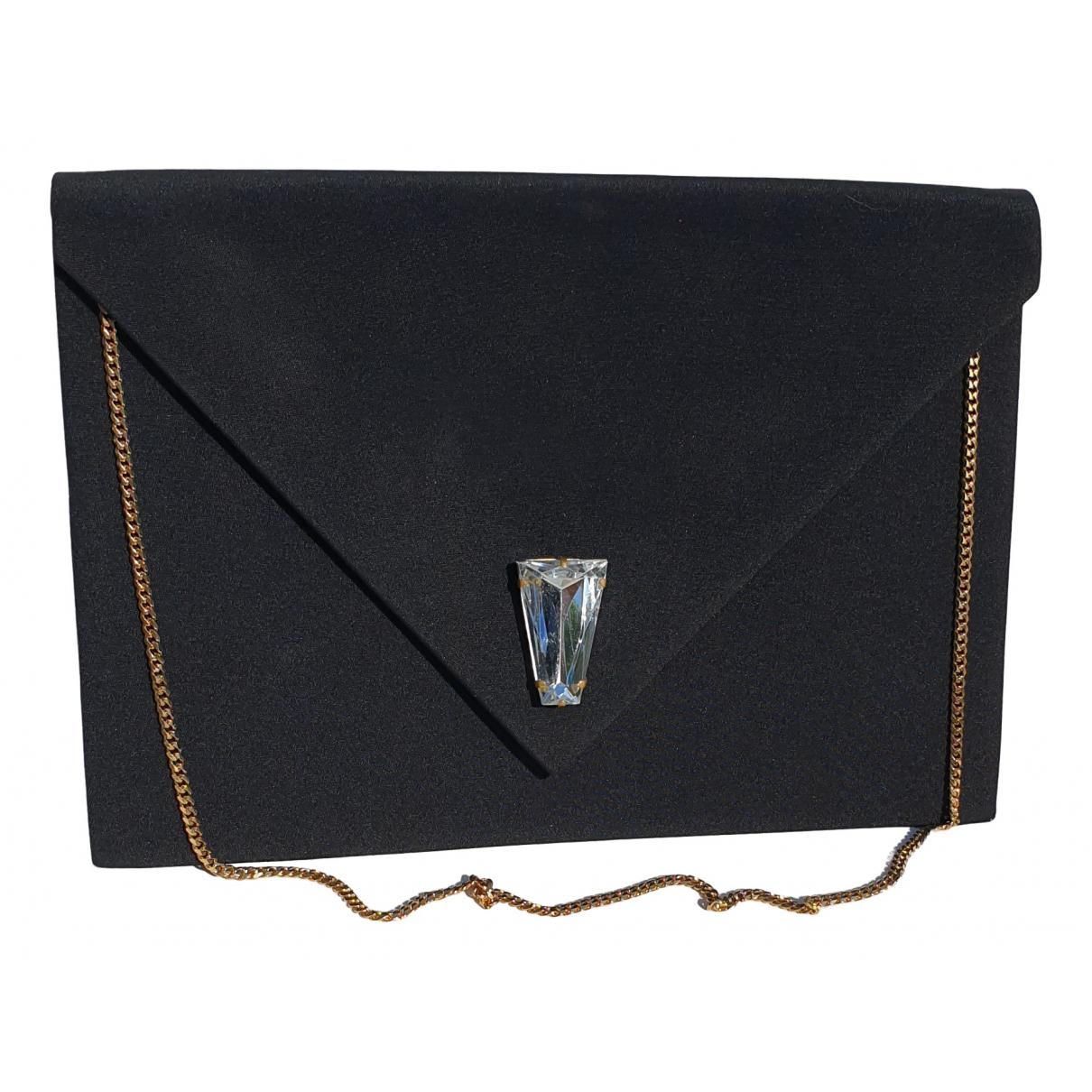 Yves Saint Laurent \N Black Silk handbag for Women \N