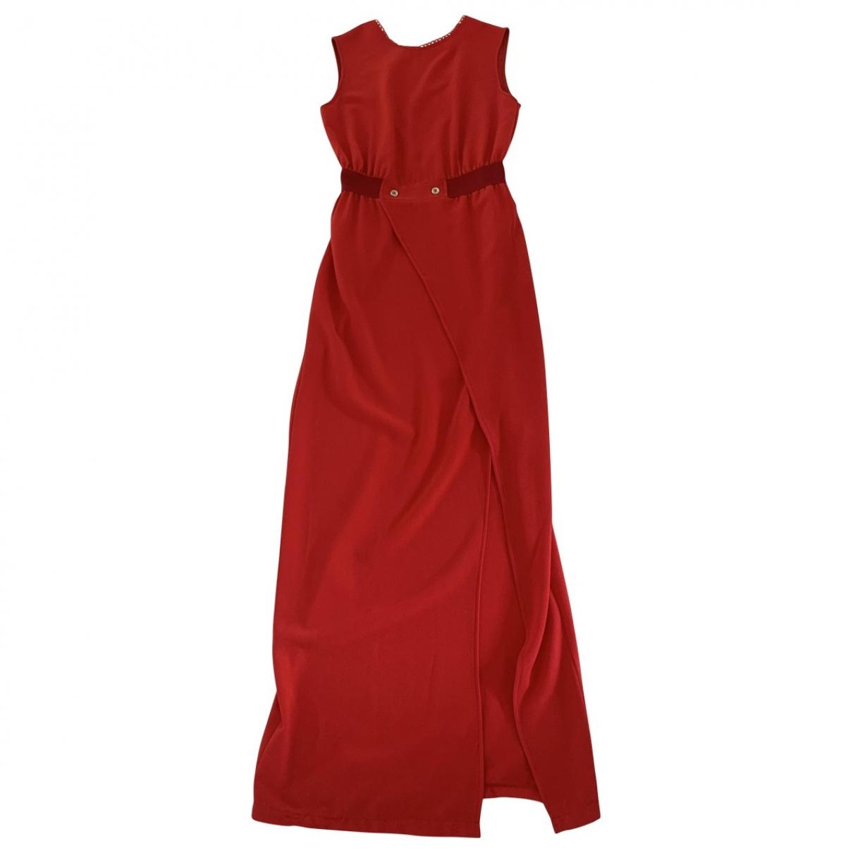 Jane Wood \N Kleid in  Rot Polyester