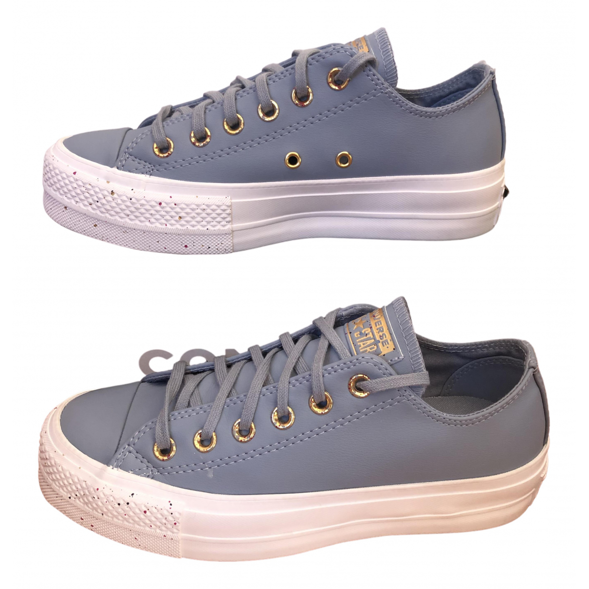 Converse \N Sneakers in  Blau Fell