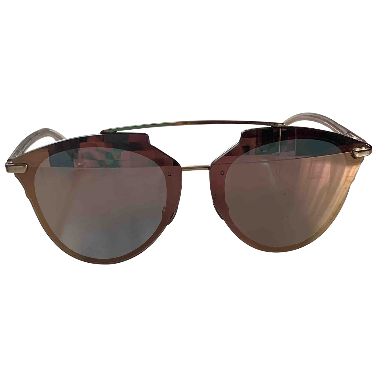 Dior Reflected Pink Metal Sunglasses for Women \N