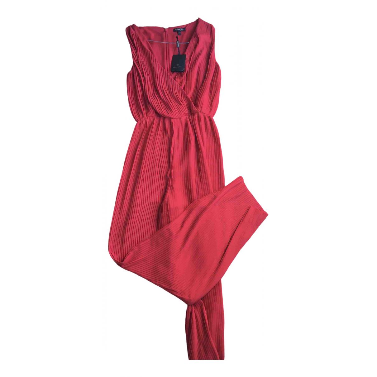 Massimo Dutti - Combinaison   pour femme - rouge