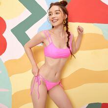 Tie Side Bikini Swimsuit