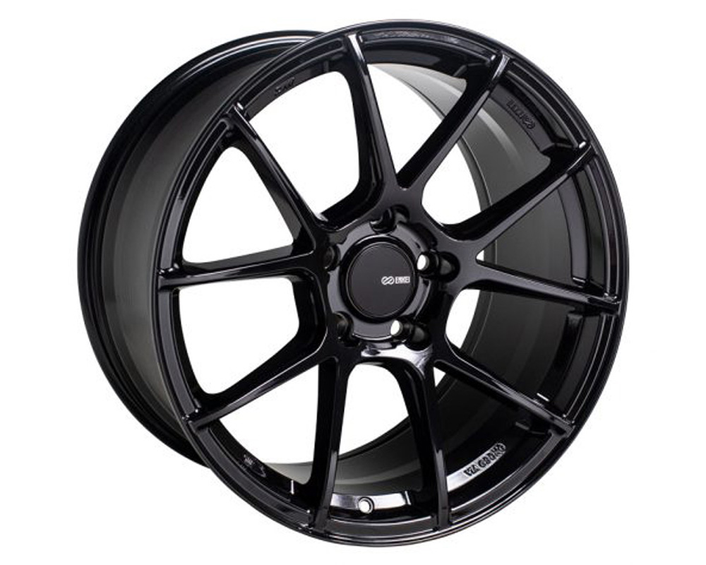 Enkei TS-V Wheel Tuning Series Gloss Black 18x8 5x114.3 45mm