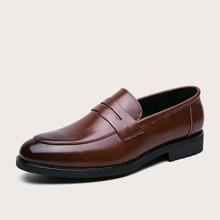Men Wide Fit Slip On Loafers