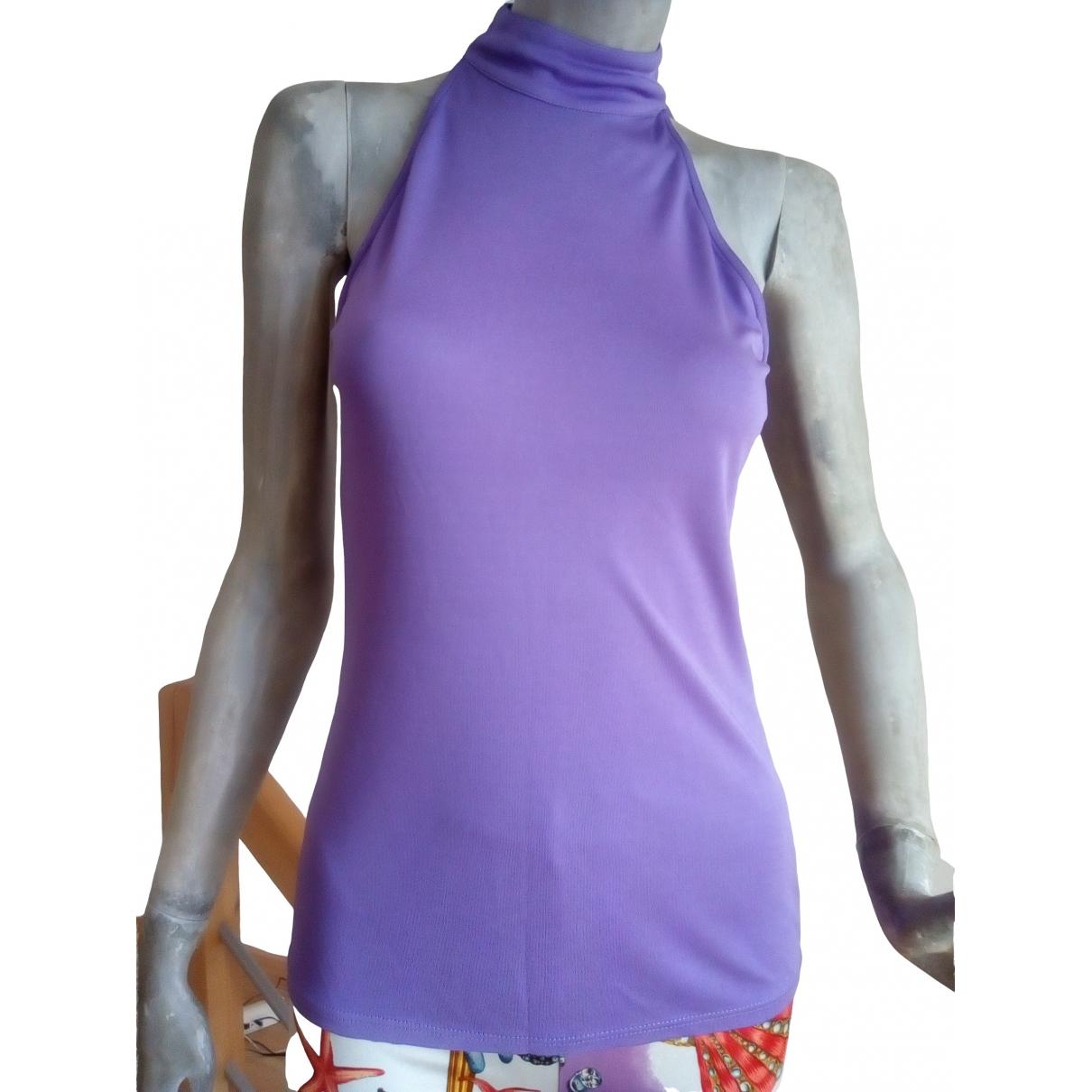 Gianni Versace - Top   pour femme - violet