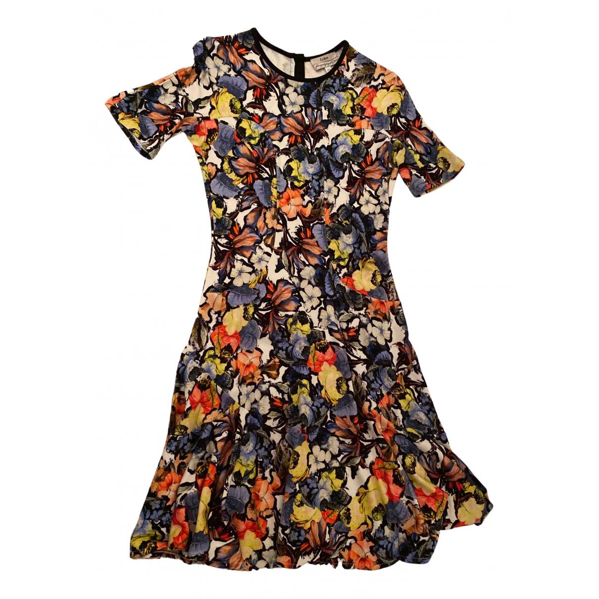 Erdem \N Kleid in  Bunt Viskose
