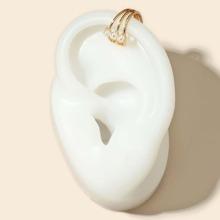 Faux Pearl Decor Ear Cuff
