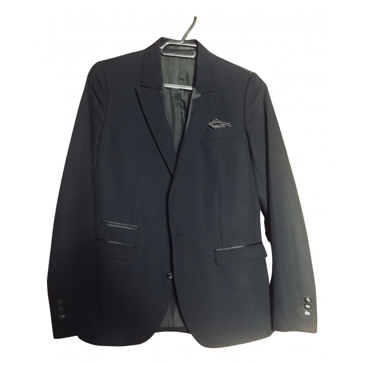 The Kooples \N Black Wool jacket for Women 36 FR