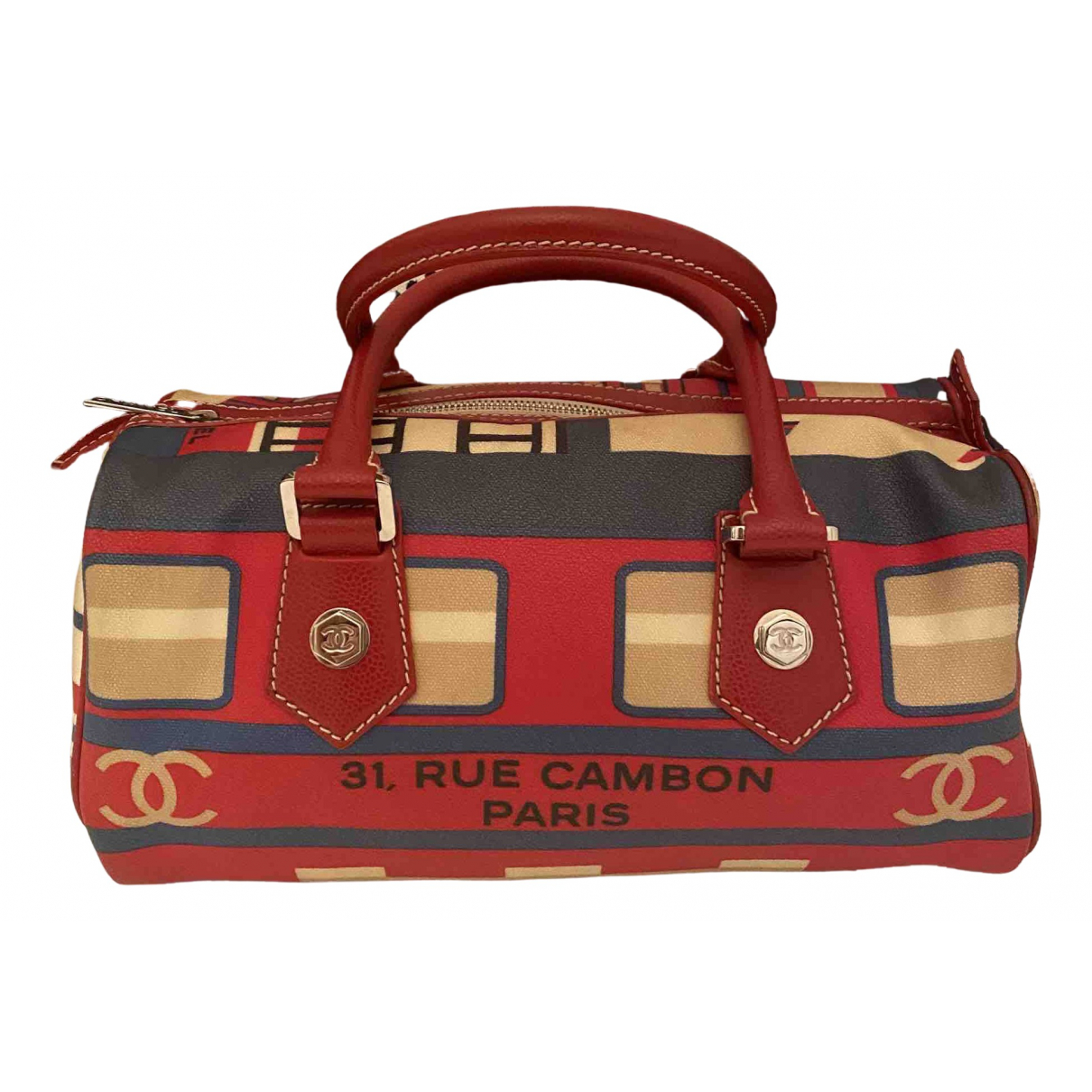 Chanel \N Red Cloth handbag for Women \N