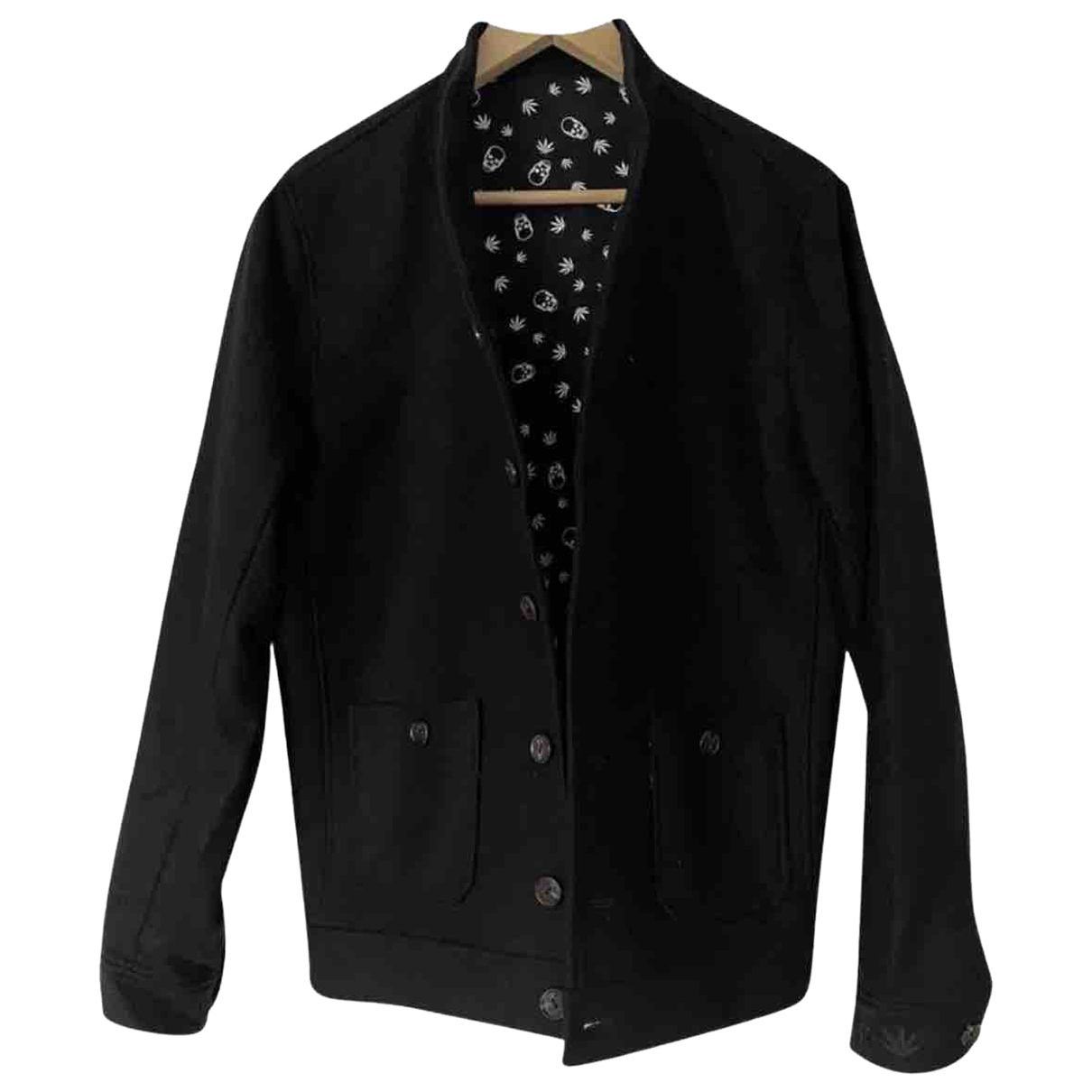 Lucien Pellat Finet N Black Cashmere jacket  for Men M International