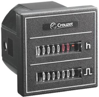 Crouzet CMM48, 7 Digit, Mechanical, Counter, 30 V ac