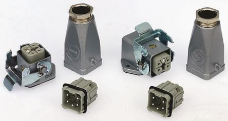 Epic Contact Heavy Duty Power Connector Kit, H-A 3 Way Male/Female 10A Connector Kit, includes Base, Inserts x 2