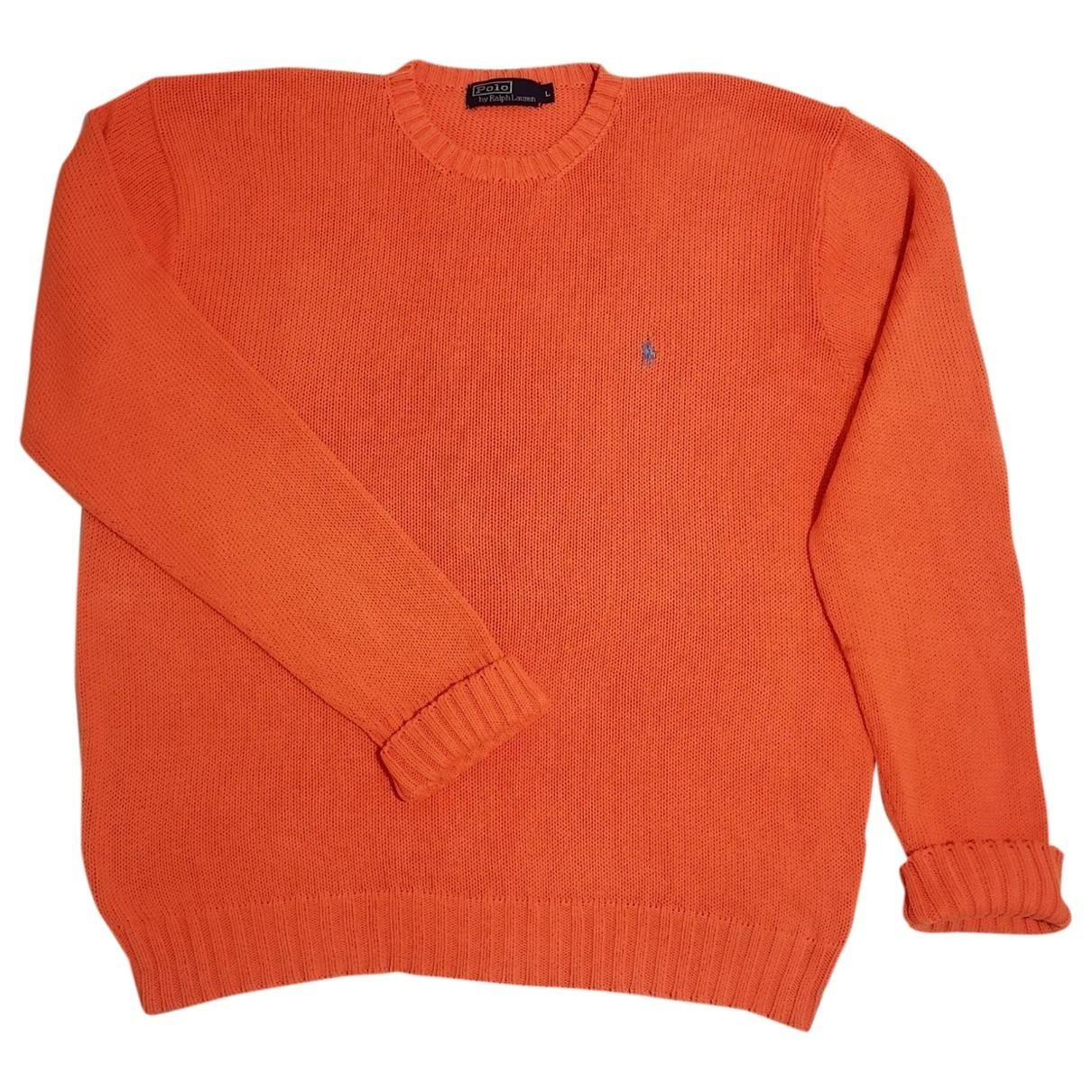 Polo Ralph Lauren \N Pullover.Westen.Sweatshirts  in  Orange Baumwolle