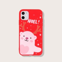 Christmas Cartoon Graphic iPhone Case