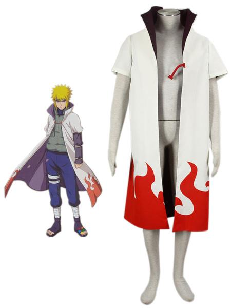 Milanoo Halloween Traje atractivo de Minato Namikaze para cosplay de Naruto