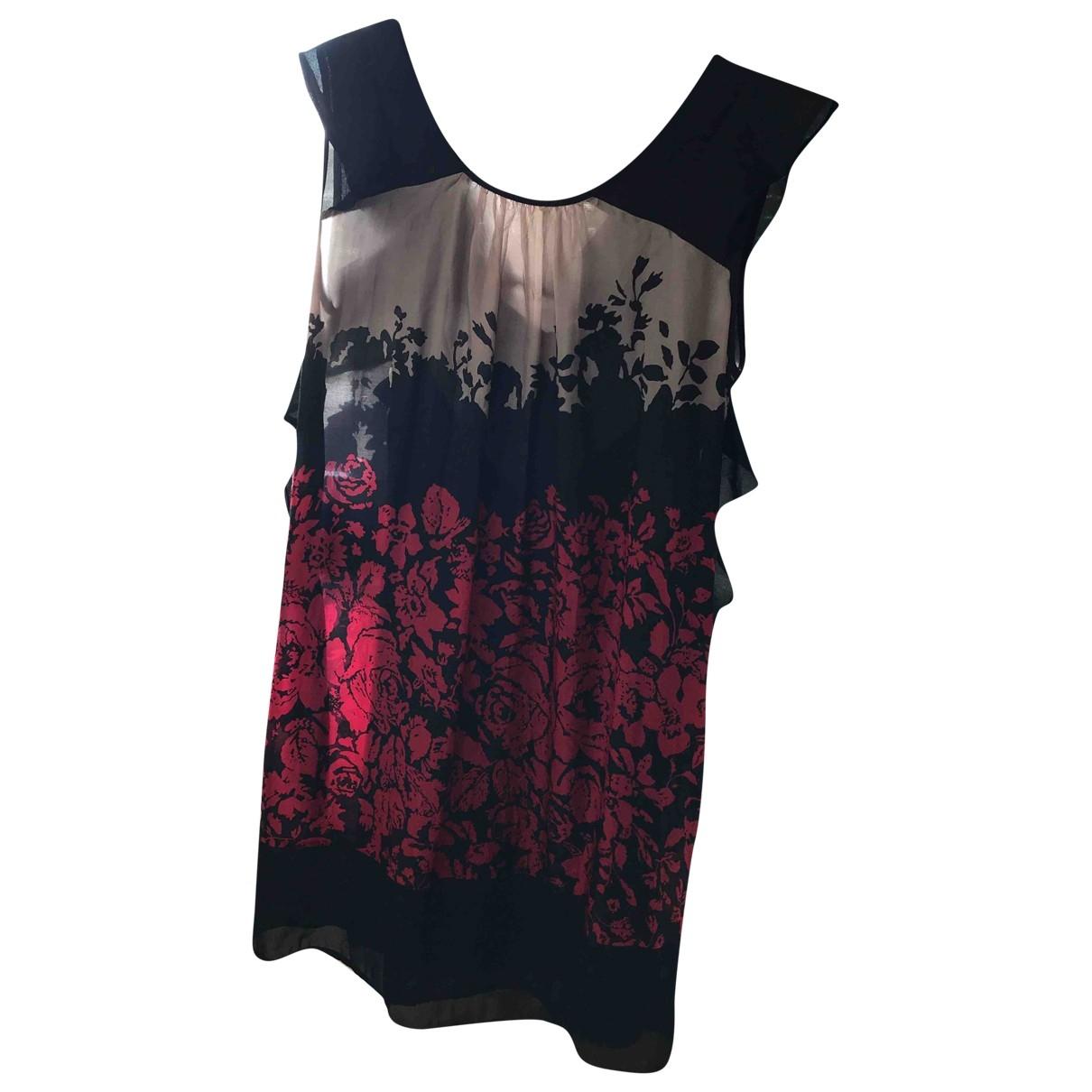 Twin Set \N Kleid in  Schwarz Seide