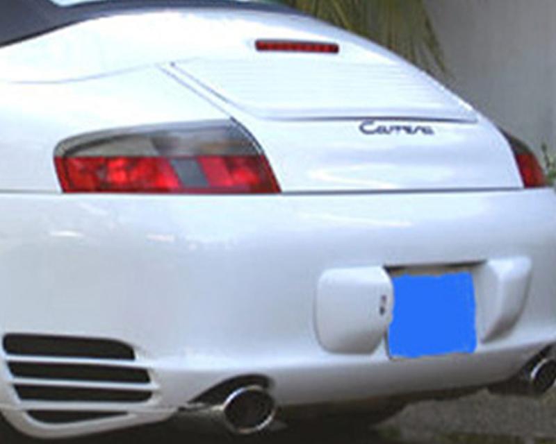 NR Auto 99607 996 Turbo Style Rear Bumper 996 Carrera 02-04