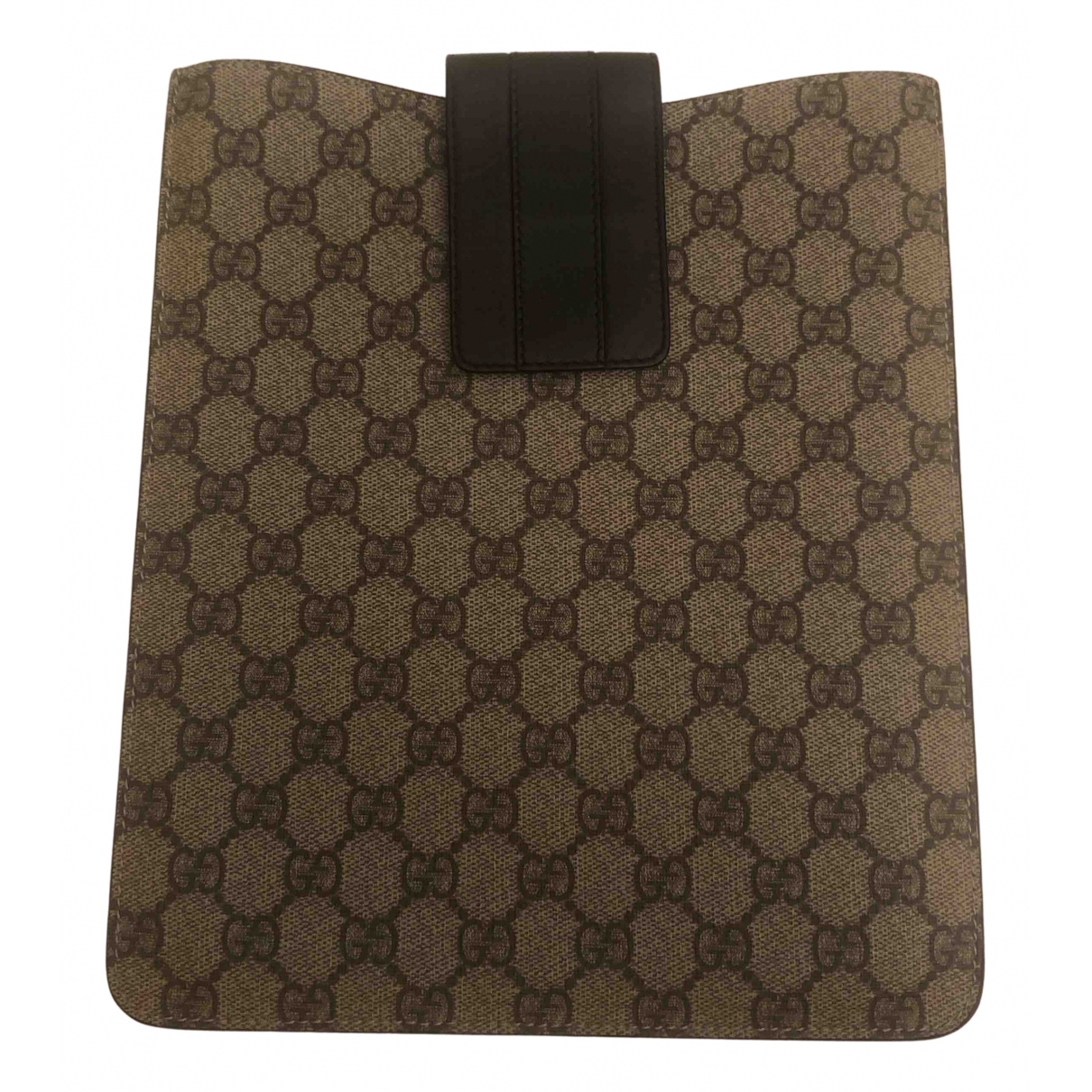 Gucci N Brown Cloth Accessories for Life & Living N