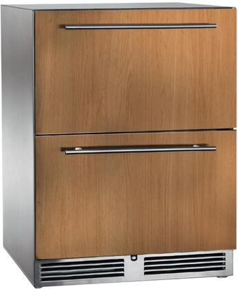 HP24RO-3-6 24 Signature Series Outdoor Refrigerator Drawers with 5.2 cu. ft. Capacity  RAPIDcool Forced-air System  and Stainless Steel Construction