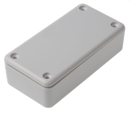 RS PRO White ABS Enclosure, 90 x 45 x 25mm