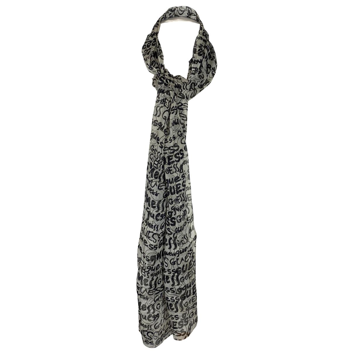 Guess - Foulard   pour femme en soie - multicolore
