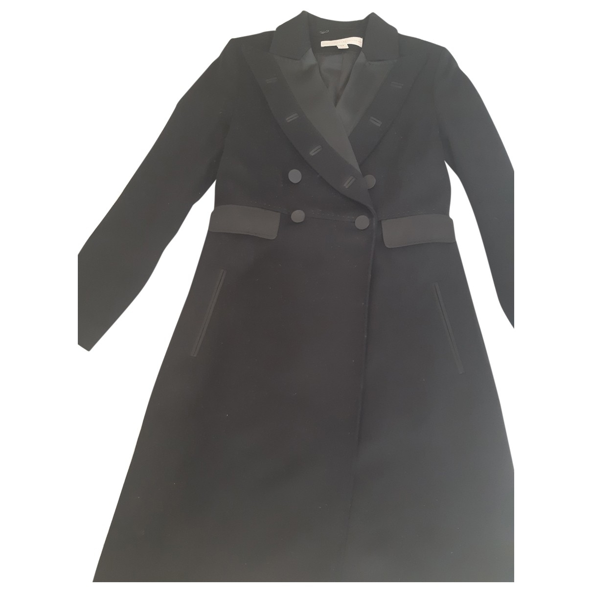 Stella Mccartney For H&m \N Black Wool coat for Women 38 FR