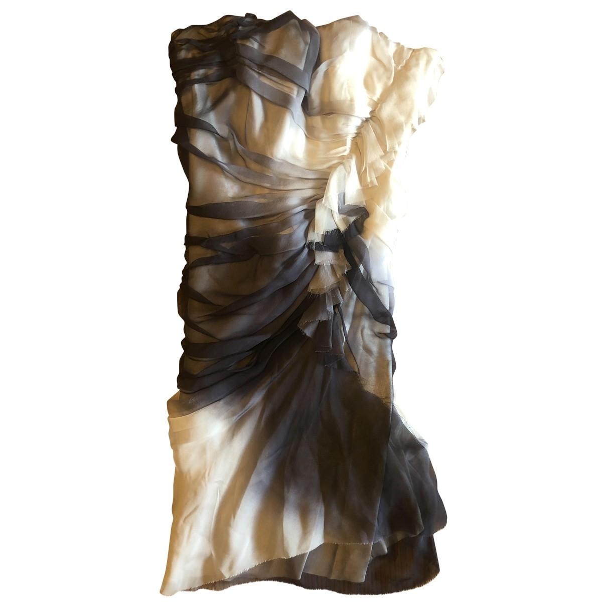 Mini vestido de Seda Ermanno Scervino