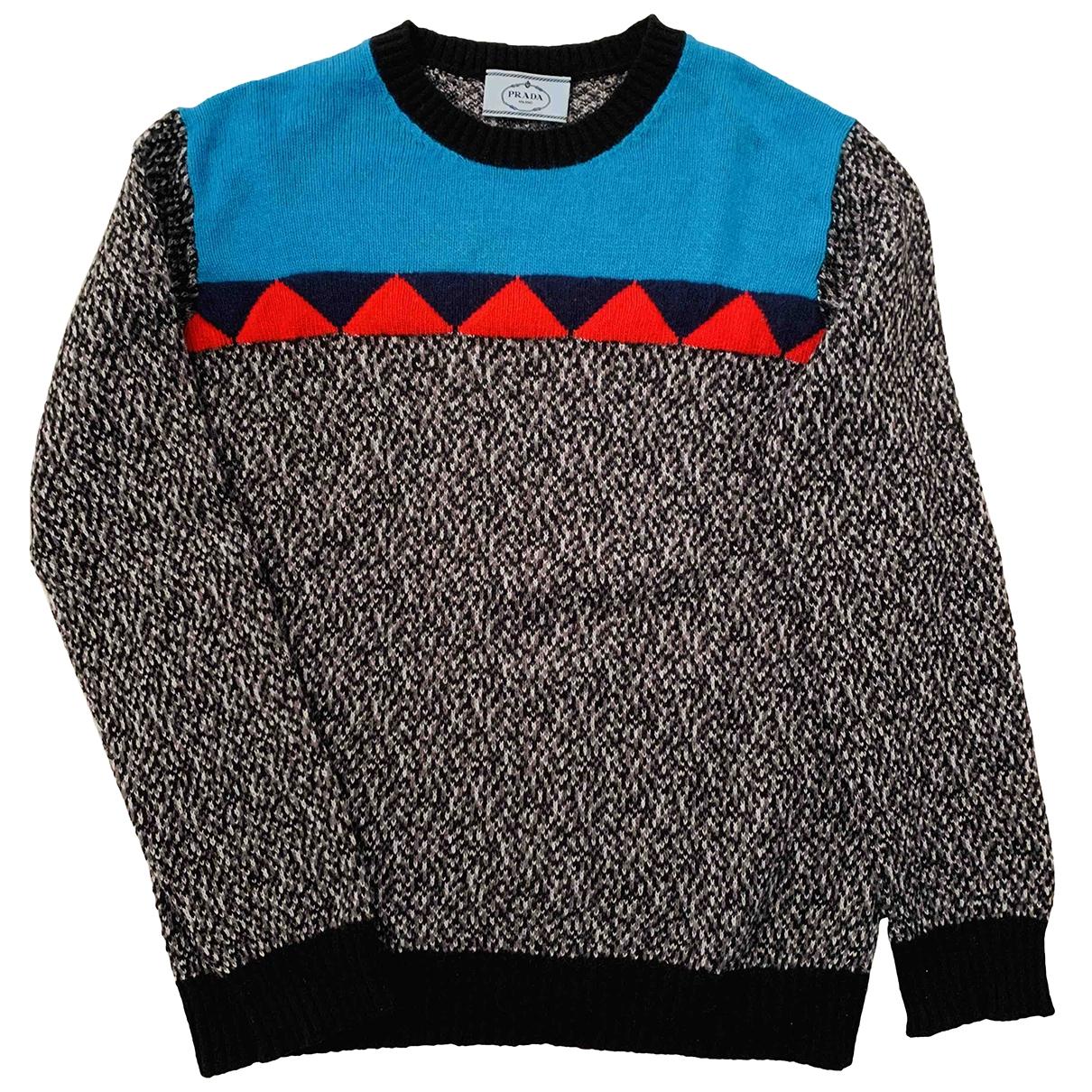 Prada \N Pullover in  Bunt Wolle