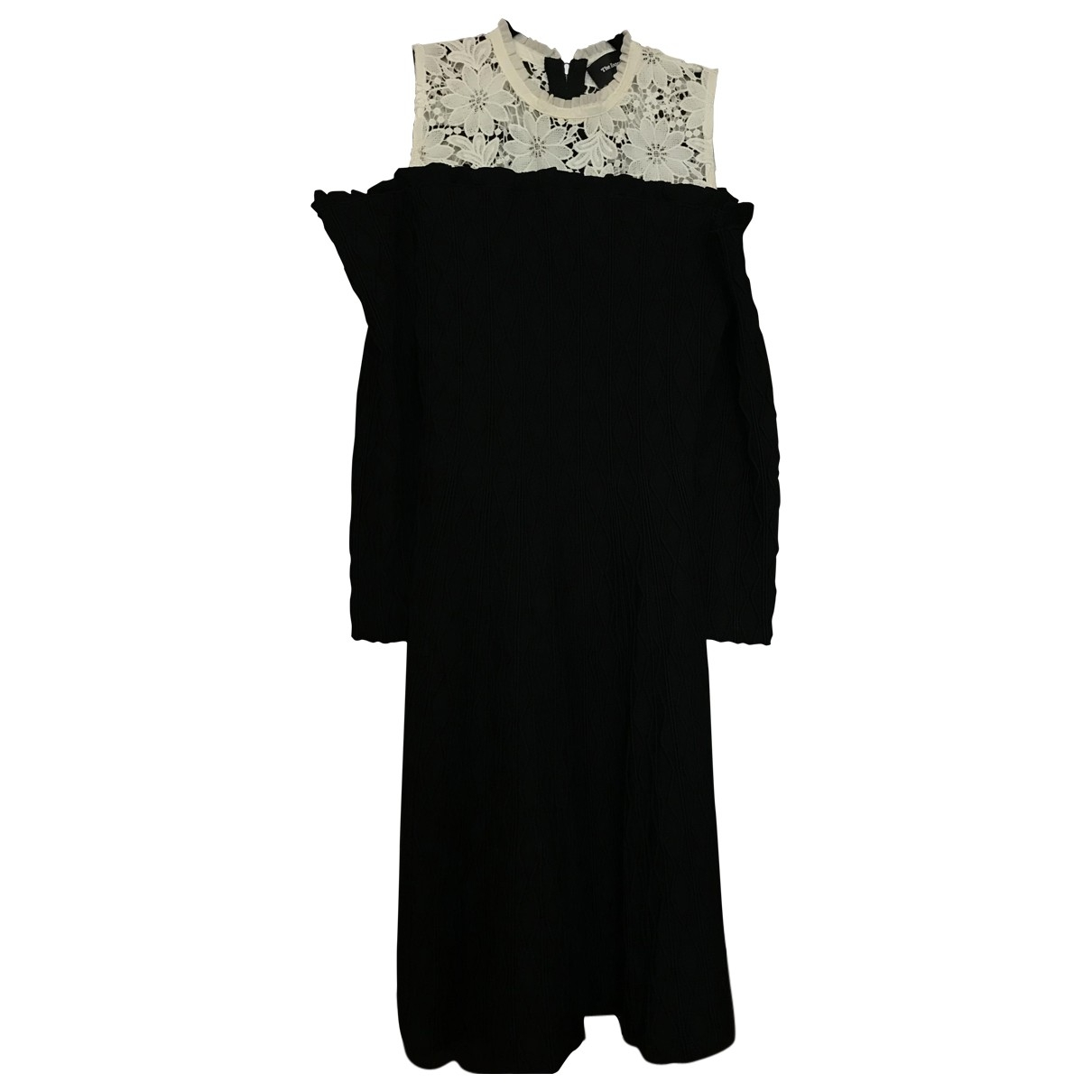 The Kooples \N Black Cotton - elasthane dress for Women 38 FR
